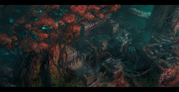 I've been working on the latest Darksiders game which I am really excited about….it's one of my favorite franchises ever. Not much has been shown, but here are a couple pieces tha…