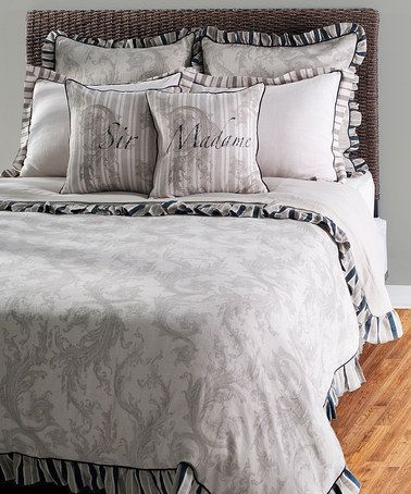 Take a look at this Beige Duvet Bedding Set by Rizzy Home on #zulily today!