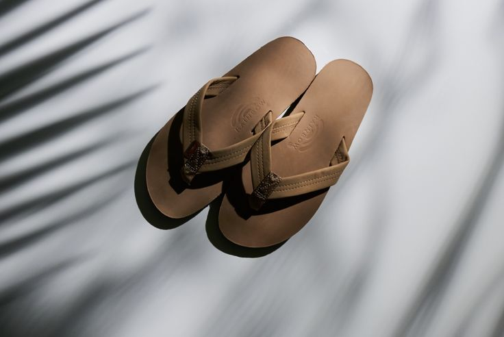 RAINBOW SANDALS SINGLE LAYER PREMIER LEATHER