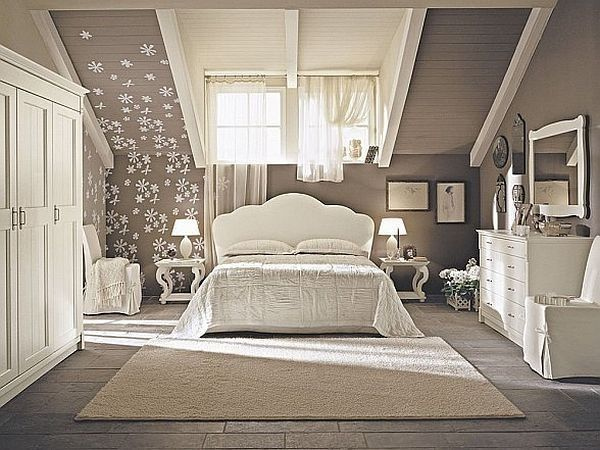 Modern Cool & Fancy Functional: 32 Attic Bedroom Design Ideas