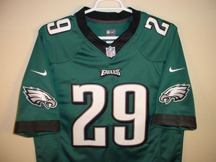 NIKE NFL ON FIELD PHILADELPHIS EAGLES DEMARCO MURRAY FOOTBALL JERSEY SIZE MENS L