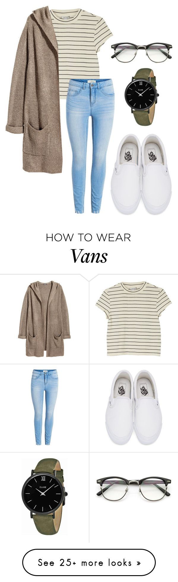 """who do you admire???"" by annayalee-gerber on Polyvore featuring Vans, Monki, H&M and CLUSE"