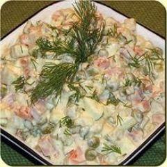 Salata Olivier - reteta ruseasca