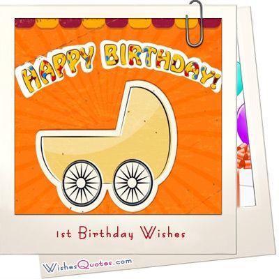#1stBirthday Wishes and Cute Baby Birthday Messages