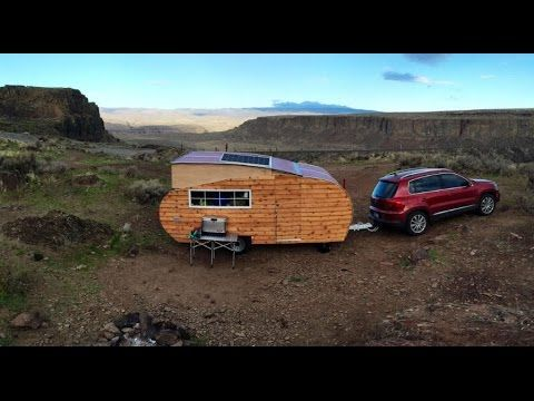 Homegrown Trailers Is A Family Owned Business Out Of Seattle Washington That Builds Campers Inspired By The Tiny House Movement