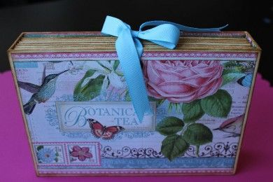RECETARIO BOTANICAL TEA SCRAPBOOKING