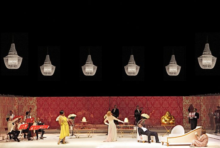 Oscar Strasnoy's Le Bal from the Hamburgische Staatsoper. Production by Matthew Jocelyn. Sets by Alain Lagarde.