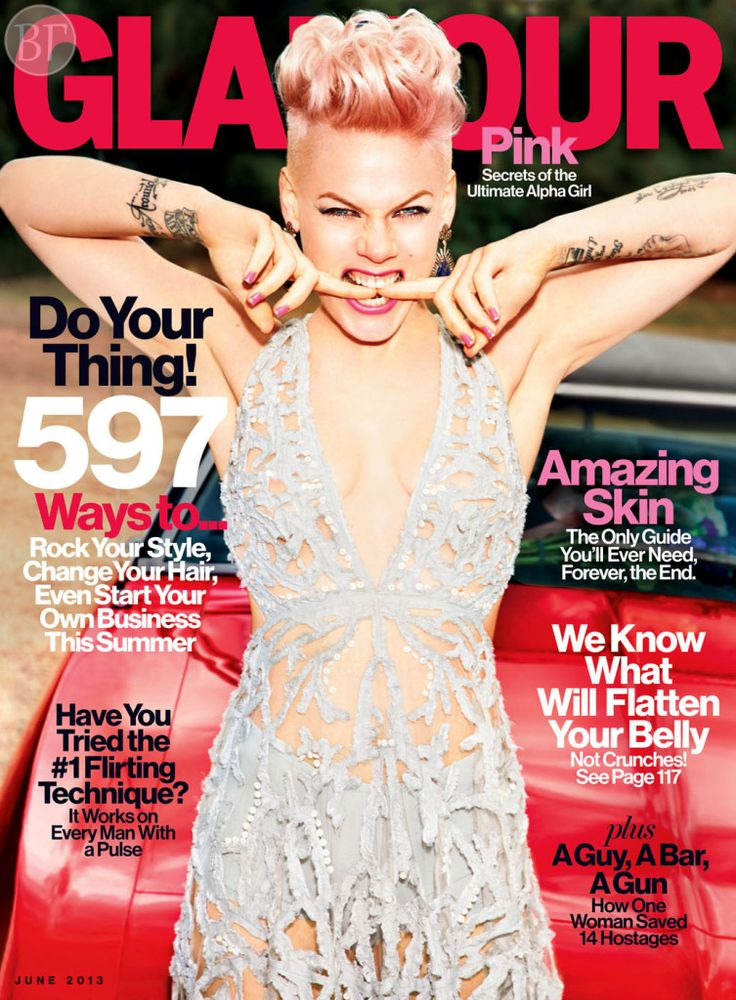 Алисия Бет Мур, более известная под псевдонимом Pink - снялась для июньского номера Glamour US. -       Далее: http://vikagreen.ru/alisiya-bet-mur-bolee-izvestnaya-pod-psevdonimom-pink-snyalas-dlya-iyunskogo-nomera-glamour-us/