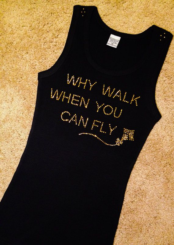 Why Walk When You Can Fly with gold Kite Rhinestone Crystal bling shirt, Alumna, Sorority bling shirt, Theta women Custom Theta shirt on Etsy, $16.99