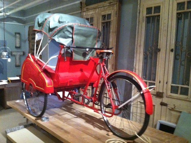 Bike Tricycle Pedicab Rickshaw Becak Velotaxi Taxi