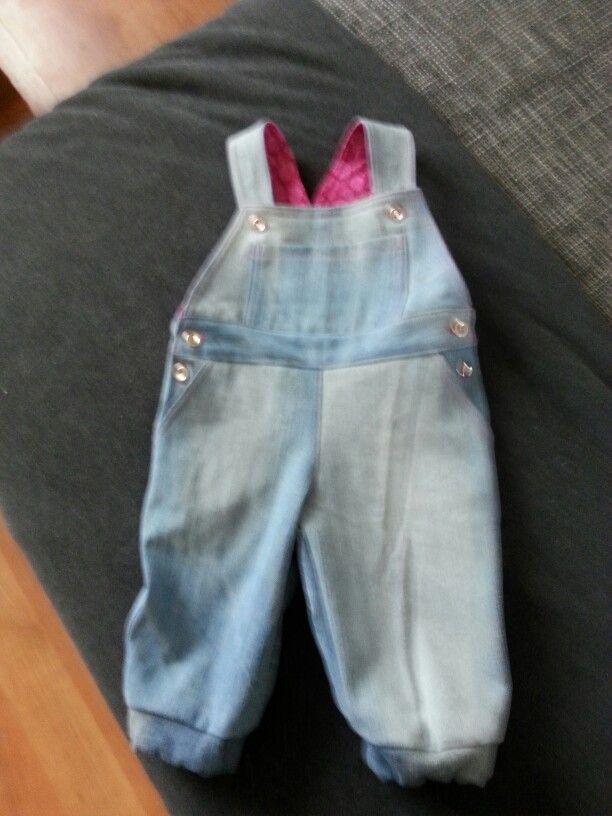 Oude jeans hergebruiken.