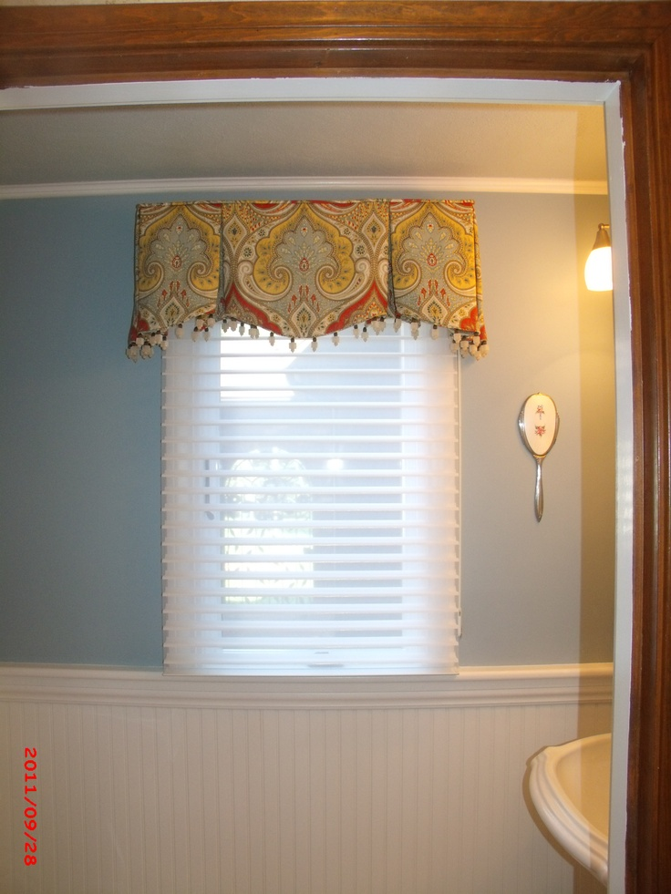 Love The Color Combo Powder Room Or Mb Idea Window