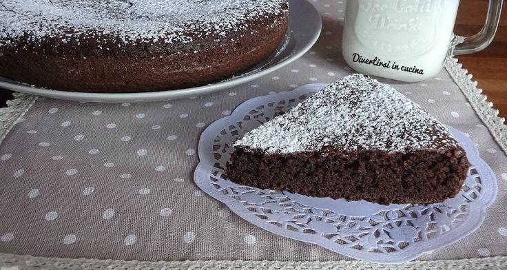Torta+al+cacao+senza+uova+e+burro