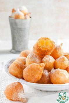 """Французские заварные пончики """"Пе-де-нонн"""" - кулинарный рецепт"""