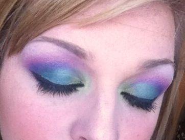 Peacock insured eyes :)