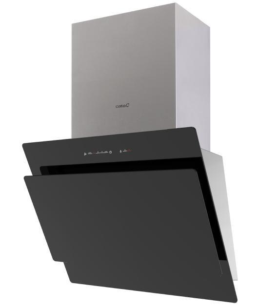 Cata Titan 600 XGBK / Вытяжки кухонные / Вытяжки со стеклом / Продукция