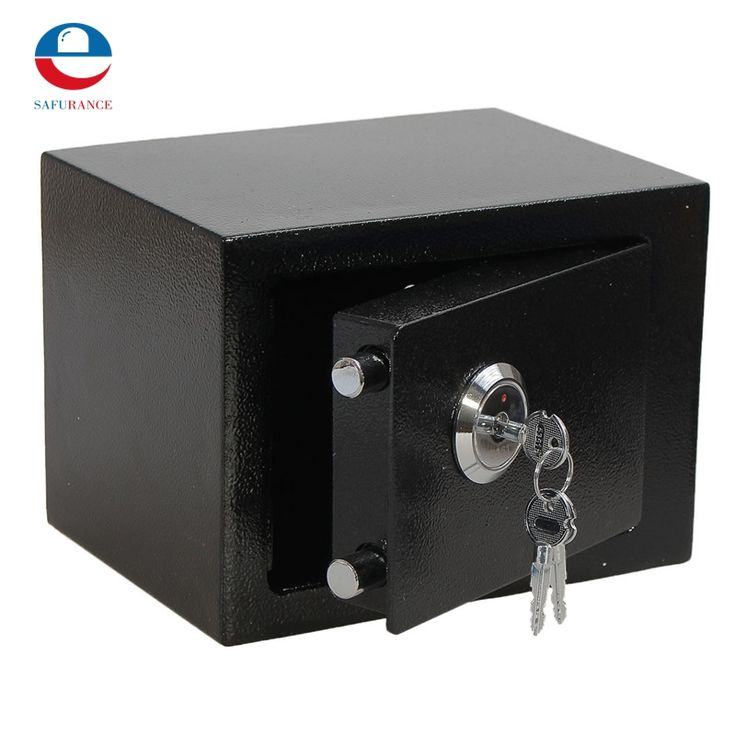 69.99$  Know more  - Durable  Strong Iron Steel Black Key Operated  Security Money Cash Safe Box Home Office House New Arrival