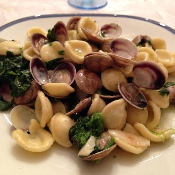 Orecchiette Broccoli And Clams @ Homemade by Federico