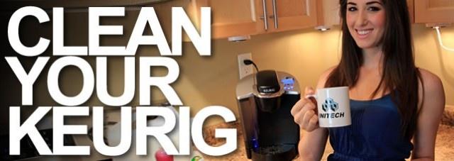 Clean a Keurig Coffee Maker!: Clean Organizations, Keurig Clean It Up, Clean Kuerig With Vinegar, Coffee Cans, K Cups, Clean Ideas, Keurig Cleanitup, Clean Keurig, Clean A Keurig Coffee Maker