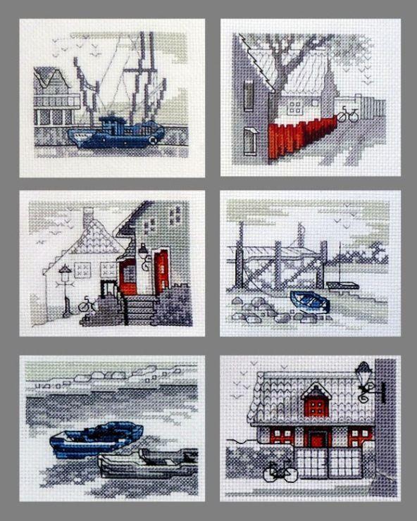 Gallery.ru / Barcos-altos - mi bordado - NataVosk