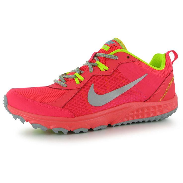 93591682ec7 Nike Wild Trail Shield Women s Running Shoes HO14 Womens Purple ...