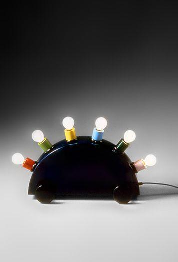 Martine Bedin – Lampe Super (1981) fibre de verre