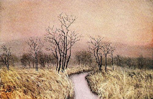 横山操『茜』|artwiki-作家・作品などの美術情報を発信するサイト-