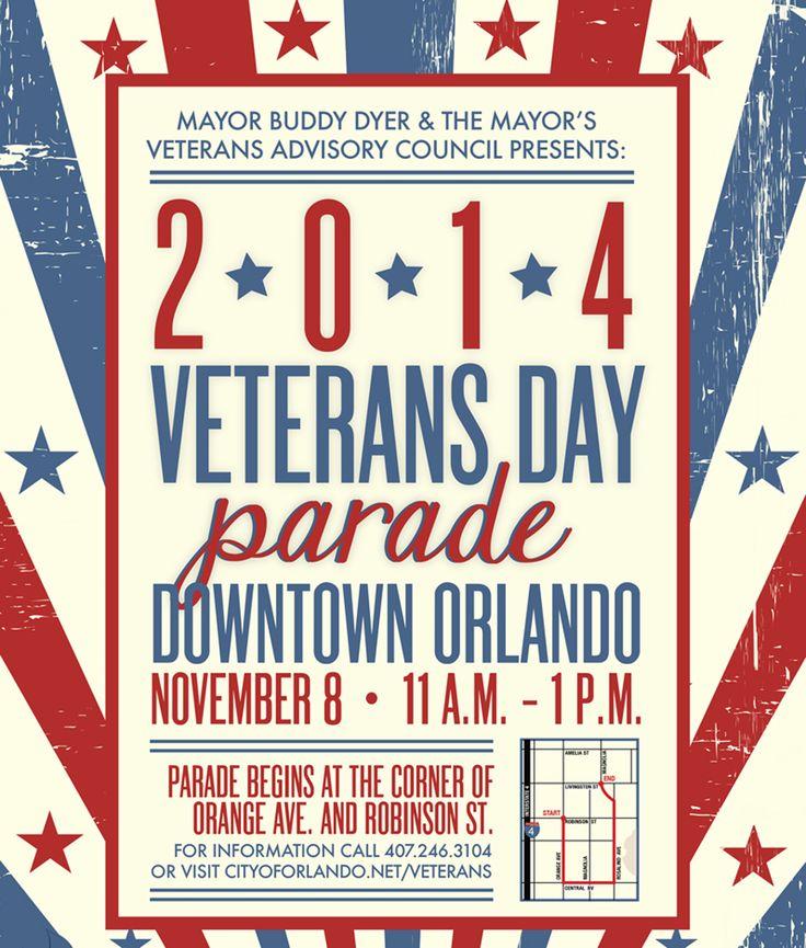 City of Orlando Veterans Day Parade - Bungalower