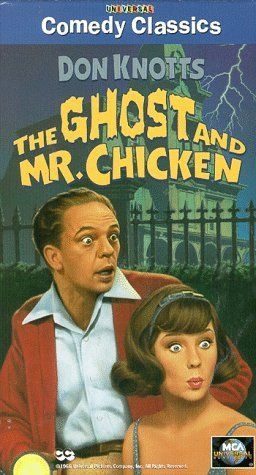 """THE GHOST AND MR.CHICKEN"" (1966) DON KNOTTS, JOAN STALEY, DICK SARGEANT"