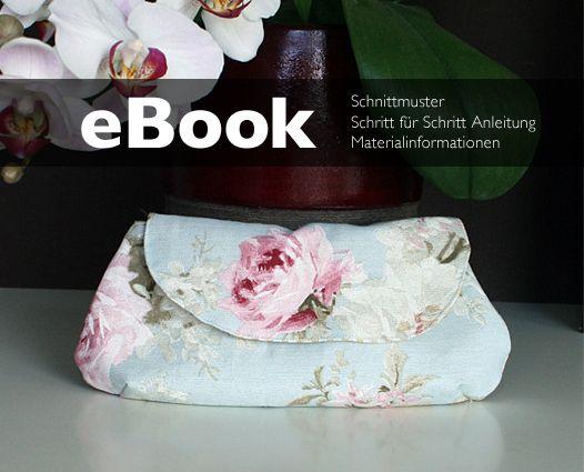 Nähanleitungen Taschen - Nähanleitung Kosmetiktasche Clutch Tasche nähen - ein Designerstück von mrs_b bei DaWanda