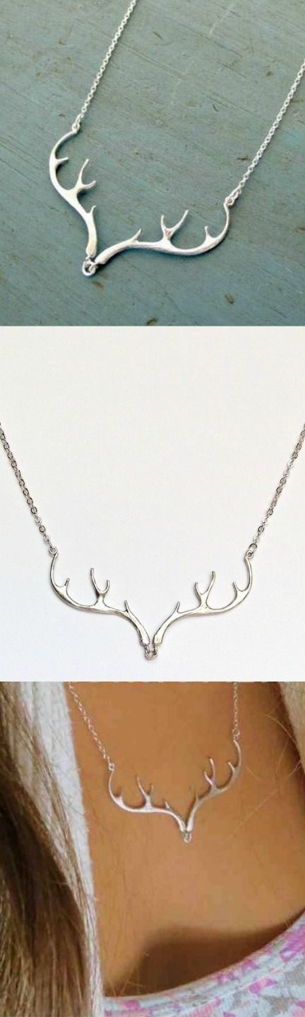 Deer Antler Necklace! Click The Image To Buy It Now or Tag Someone You Want To Buy This For.  #Hunting