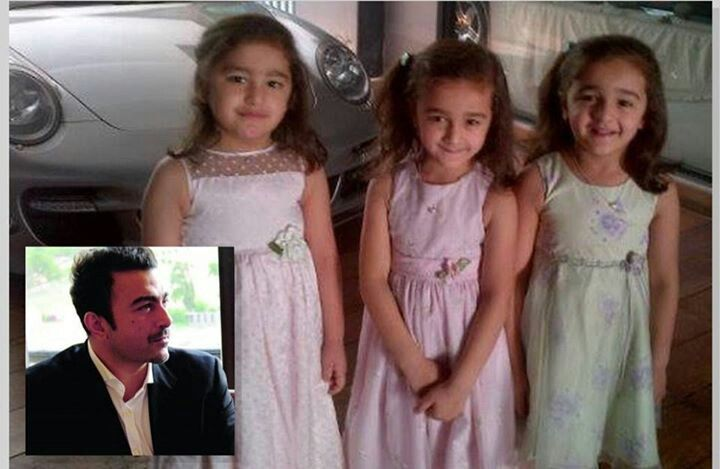Shan with cute daughters...