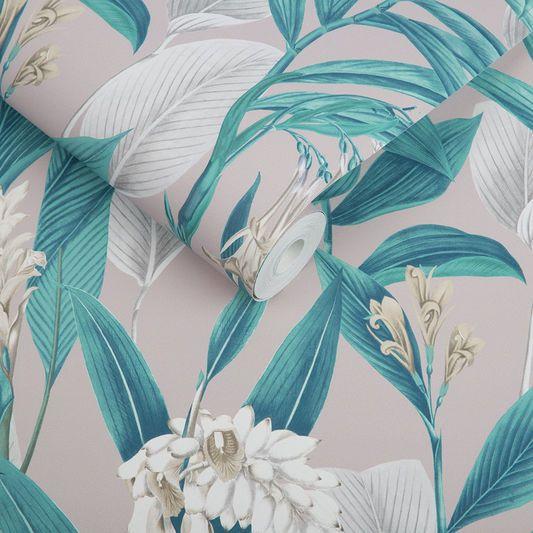 Botanical Dusk Wallpaper, , large