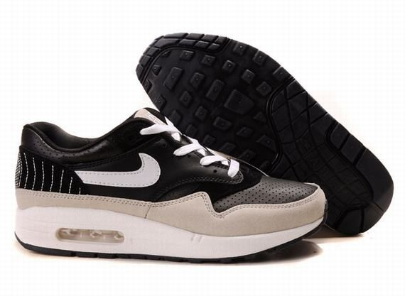 308866 037 Nike Air Max 1 Black White cheap Nike Air Max If you want to  look 308866 037 Nike Air Max 1 Black White you can view the Nike Air Max 1  ...