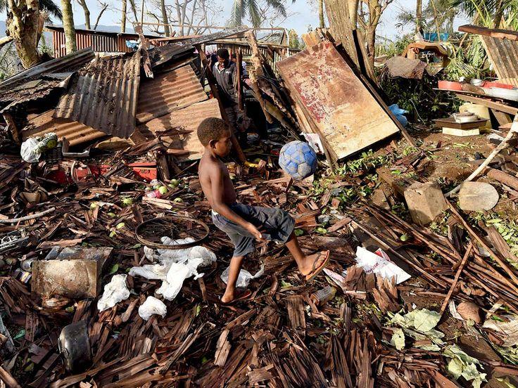 Cyclone Pam Strikes Vanuatu