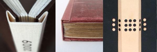 Dos rapporté bindings  http://www.behance.net/boundbyben