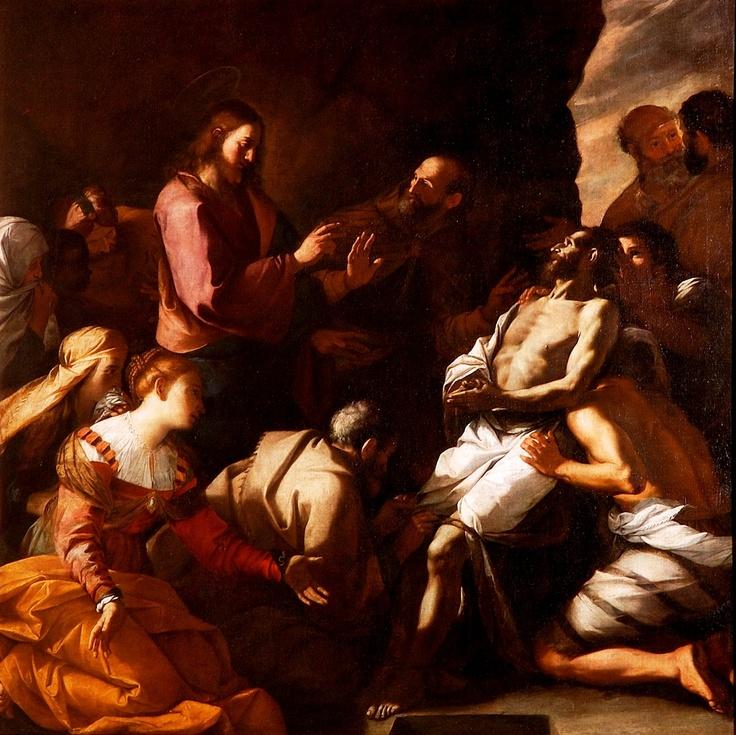 Mattia Preti, Resurrezione di Lazzaro  (Genova) 1640-45