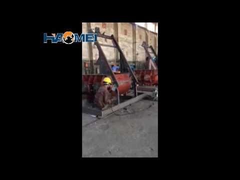haomei concrete mixer workshop video