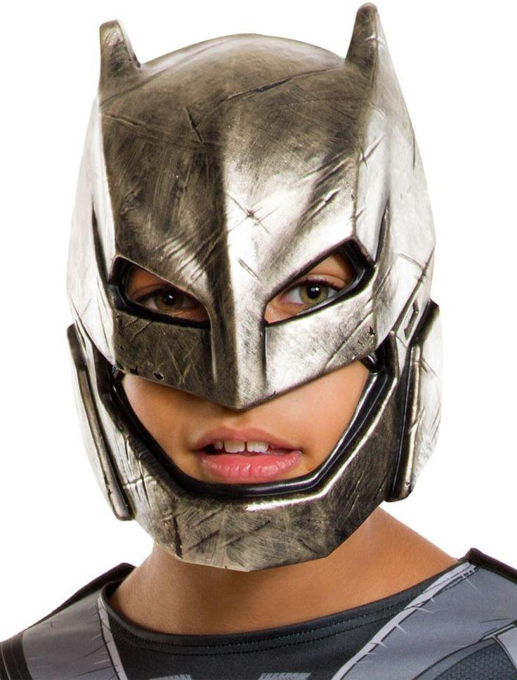 """Детская+бронированная+маска+Бэтмена+из+фильма+""""Бэтмен+против+Супермена"""".+Материал:+пластик."""