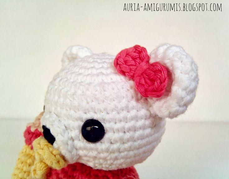 Mejores 9 imágenes de Oso Amigurumi en Pinterest | Patrones ...