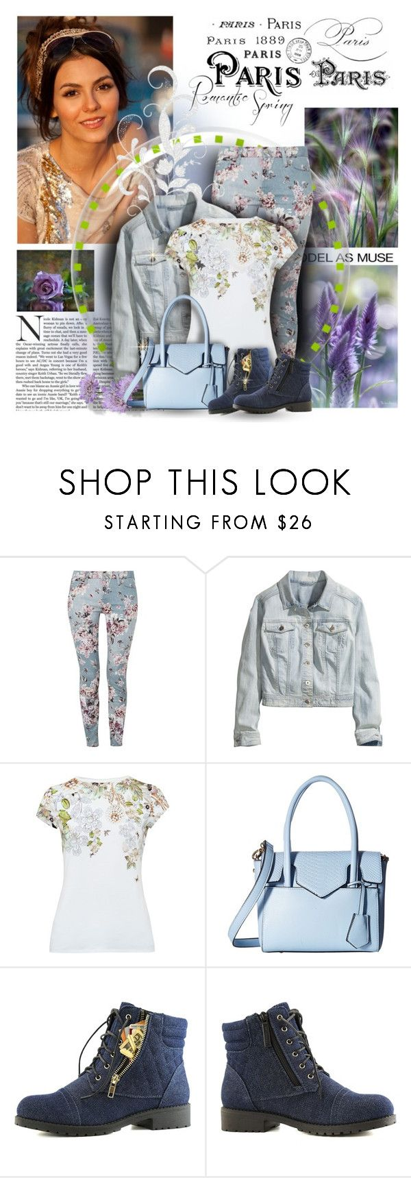 """#76-2017 ;-)"" by maison-de-forgeron ❤ liked on Polyvore featuring By Terry, 7 For All Mankind, Trilogy, H&M, Ted Baker, Gabriella Rocha and 40"