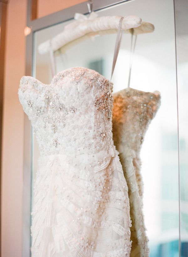 we couldn't resist pinning just one more shot of this beauty of a http://www.moniquelhuillier.com/ gown  Photography by ktmerry.com