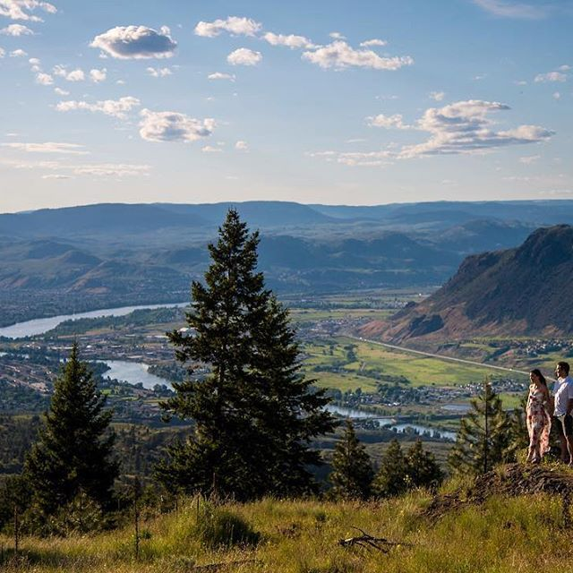This one taken in the rolling hills of #kamloops, Taken up in the hills on the south side of Kamloops. #engagementshoot #Kamloopswedding #Kamloopsweddingphotography #Kamloopsweddingphotographer
