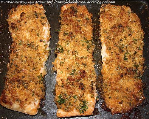 Zalm uit de oven met een knapperig korstje