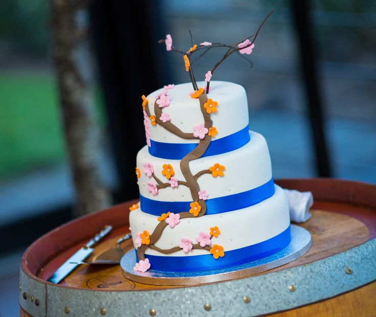 Cherry Blossom Tree Wedding Cake - Salt Studios| Toowoomba Wedding and Commercial Photography