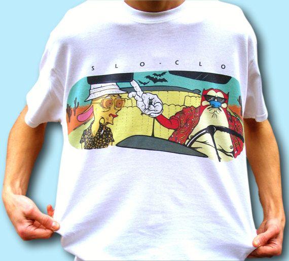 Ren and Stimpy T-Shirt, Fear and Loathing T-shirt, 90s Cartoon Shirt, Retro Cartoon, Hunter S Thompson Shirt, Weed T-Shirt, Marijuana Tee