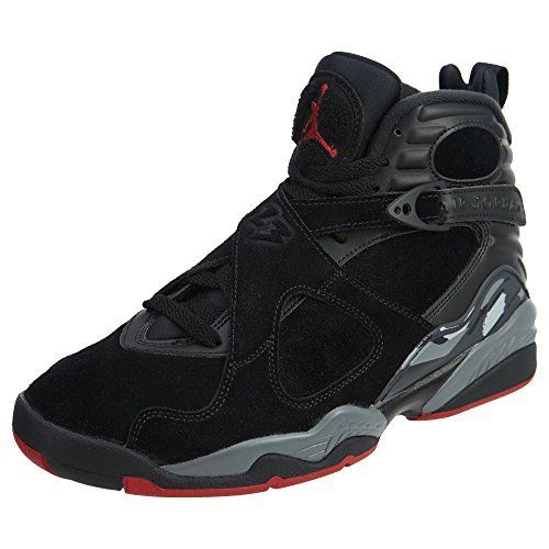 b99acdcf3fd6 Jordan Air 8 Retro Bred Lifestyle Casual Sneakers Mens Black Gym Red-Wolf  Grey New 305381-022 - 7