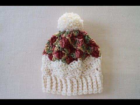 Crochet Slouchy Hat - B.hooked Crochet