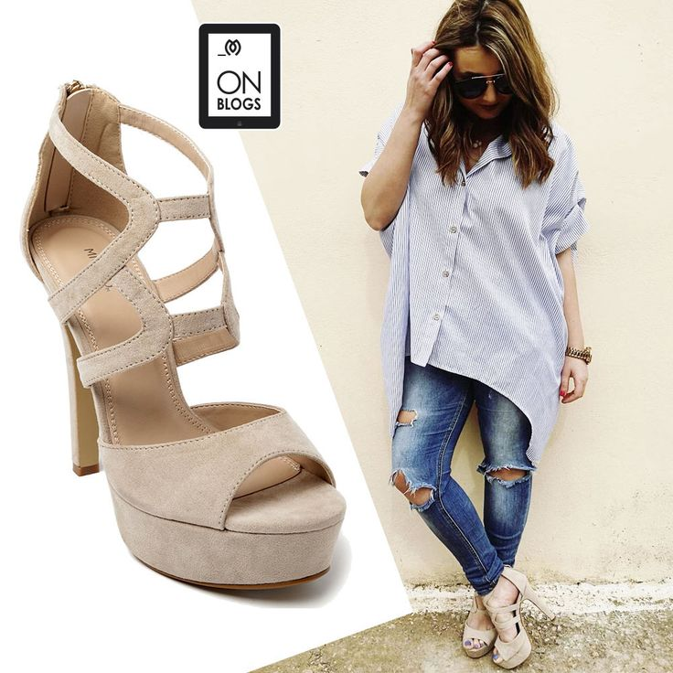 Alexia from Missbloublou blog wearing #MIGATO ES587 high heeled sandals!  SHOP NOW ON SALE ►miga.to/ES587-L10en #highheels @sandals #shop