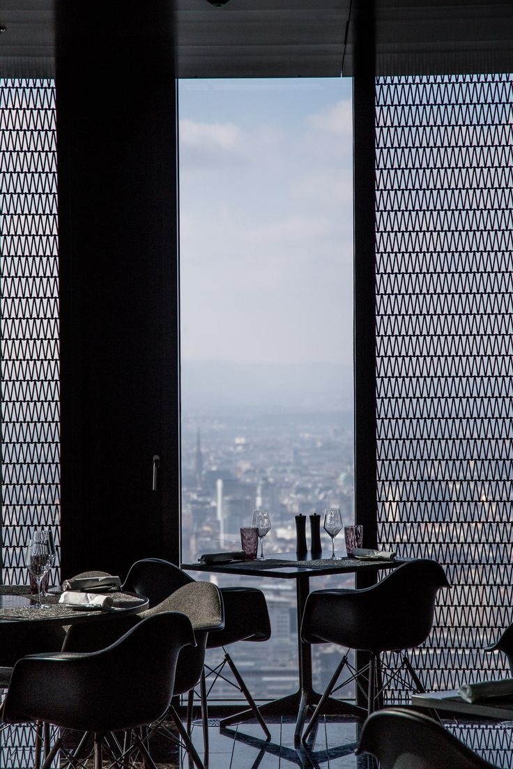 Melia Vienna / Restaurant im 57. Stock